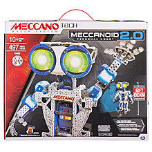 Buy Meccano Tech Meccanoid 2.0 Personal Robot Set Online at johnlewis.com