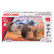 Buy Meccano 15 Model Off-Road Rally Set Online at johnlewis.com
