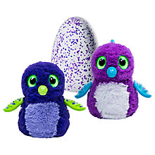 Buy Hatchimals Draggle Purple Egg Online at johnlewis.com