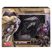 Buy Air Hogs Batman V Superman Remote Control Batwing Online at johnlewis.com