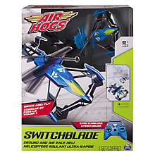 Buy Air Hogs Switchblade Ground and Air Race Remote Control Heli Online at johnlewis.com