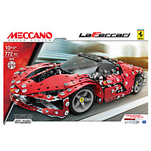 Buy Meccano LaFerrari Set Online at johnlewis.com