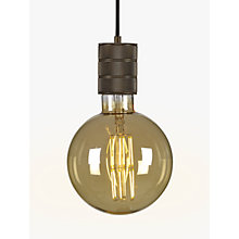 Buy Calex XXL E40 Dimmable Filament Globe Bulb, Gold Online at johnlewis.com