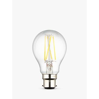 Calex 6W BC LED Filament Classic Bulb, Clear