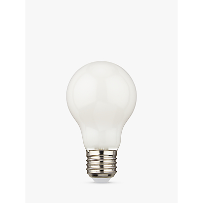 Calex 6W BC LED Dimmable Filament Bulb, Opal Glass