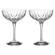 Buy John Lewis Glacier Cut Coupe, Set of 2 Online at johnlewis.com