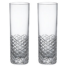 Buy Social by Jason Atherton Hand Cut Highball Glasses, Set of 2 Online at johnlewis.com