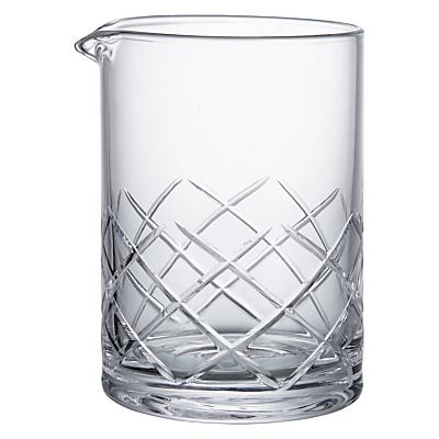 Image of Social by Jason Atherton Cut Glass Mixing Jug, 500ml