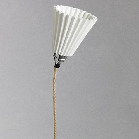 Buy Original BTC Portable Medium Pleat Wall Light, White ...