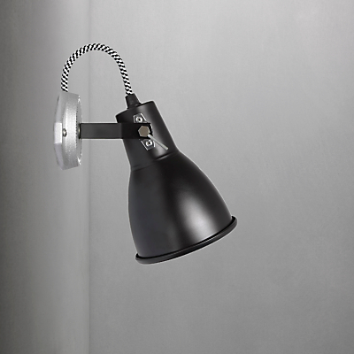 Original BTC Stirrup 1 Single Wall Light, Black
