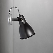 Buy Original BTC Stirrup 1 Single Wall Light, Black Online at johnlewis.com