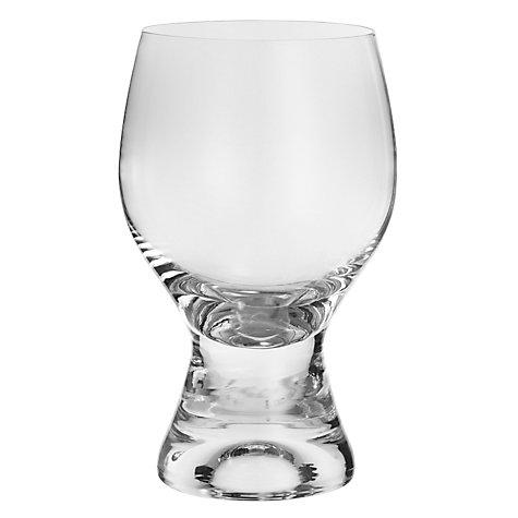 buy john lewis curve red wine glass clear 340ml john lewis. Black Bedroom Furniture Sets. Home Design Ideas