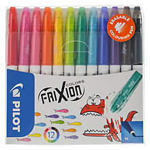 Buy Pilot Frixon Eraseable Colouring Pens, Pack of 12 Online at johnlewis.com
