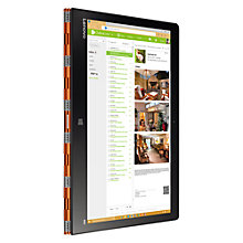 "Buy Lenovo YOGA 900 Convertible Laptop, Intel Core i5, 8GB RAM, 256GB SSD, 13"" QHD+ Touch Screen Online at johnlewis.com"