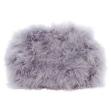 Buy Coast Angelique Feather Bag, Lilac Online at johnlewis.com