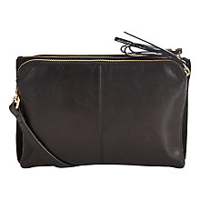 Buy Oasis Leather Daria Triple Bag Online at johnlewis.com
