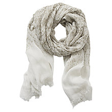 Buy Betty & Co. Long Printed Scarf, Reed/Dark Green Online at johnlewis.com