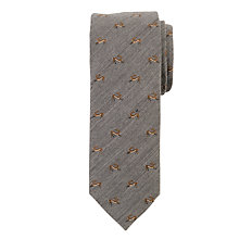 Buy John Lewis Wool Hare Tie, Dark Grey Online at johnlewis.com