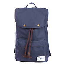 Buy Barbour Navigator Nylon Backpack, Navy Online at johnlewis.com