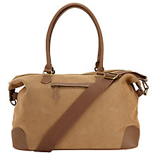 Buy John Lewis Cambridge 2 Medium Explorer Bag, Brown Online at johnlewis.com