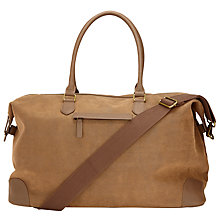 Buy John Lewis Cambridge Large Explorer Bag, Brown Online at johnlewis.com