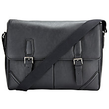 Buy John Lewis Barbican Messenger Bag, Black Online at johnlewis.com