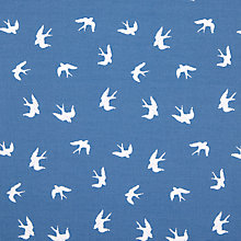 Buy John Lewis Swallow Print Fabric Online at johnlewis.com