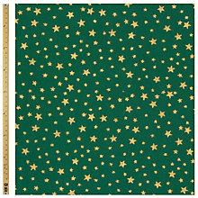 Buy John Lewis Gold Star Printed Fabric Online at johnlewis.com