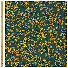 Buy John Lewis Holly Vine Print Fabric Online at johnlewis.com