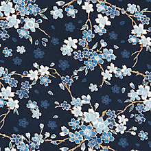 Buy John Lewis Japanese Floral Print Fabric Online at johnlewis.com