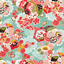 Buy John Lewis Japanese Shapes Print Fabric Online at johnlewis.com