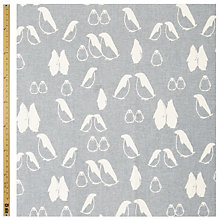 Buy John Lewis Scandinavian Penguins Fabric Online at johnlewis.com