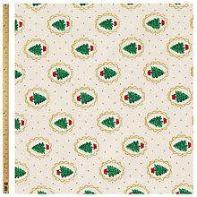 Buy John Lewis Mini Tree Print Fabric Online at johnlewis.com