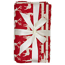 Buy John Lewis Christmas Scandinavian Fat Quarter Fabrics, Pack of 5 Online at johnlewis.com