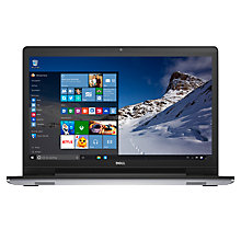 "Buy Dell Inspiron 17 Laptop, Intel Core i7, 16GB RAM, 2TB, 17.3"" Full HD, Silver Online at johnlewis.com"