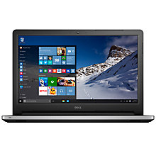 "Buy Dell Inspiron 15 5000 Series Laptop, Intel Core i7, 16GB RAM, 2TB, 15.6"", Silver Online at johnlewis.com"