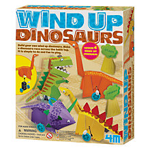 Buy Great Gizmos Wind Up Dinosaurs Kit Online at johnlewis.com