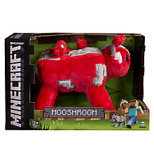 Buy Minecraft Soft Mooshroom Toy Online at johnlewis.com