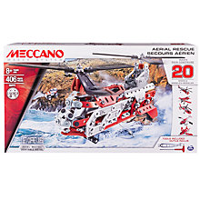 Buy Meccano 20 Model Aerial Rescue Set Online at johnlewis.com