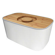 Buy Joseph Joseph Steel Bread Bin Online at johnlewis.com