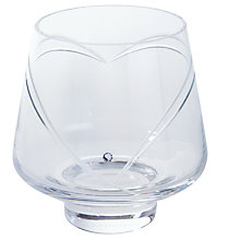 Buy Dartington Crystal Romance Votive, Clear Online at johnlewis.com