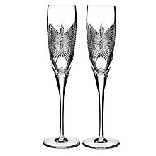 Buy Waterford Happiness Toasting Flute, Set of 2 Online at johnlewis.com