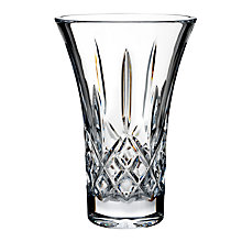 Buy Waterford Lismore Vase, H20cm, Clear Online at johnlewis.com
