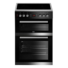 Buy Beko JDC673X Electric Cooker, Stainless Steel Online at johnlewis.com
