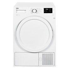 Buy Beko DHY7340W Heat Pump Condenser Tumble Dryer, 7kg Load, A++ Energy Rating, White Online at johnlewis.com