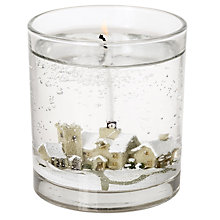 Buy John Lewis Snowscene Candle, Large Online at johnlewis.com