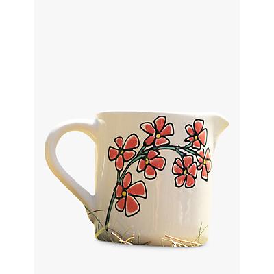 Image of Gallery Thea Flower Milk Jug