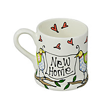 Buy Gallery Thea Personalised Bird Mug, Extra Large Online at johnlewis.com