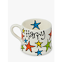 Buy Gallery Thea Personalised Star Mug, Small Online at johnlewis.com