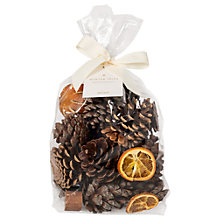 Buy John Lewis Winter Spice Christmas Pot Pourri, 500g Online at johnlewis.com